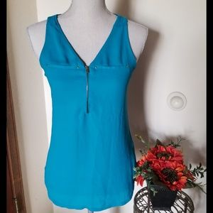 Express Brand Turquoise Tank Top